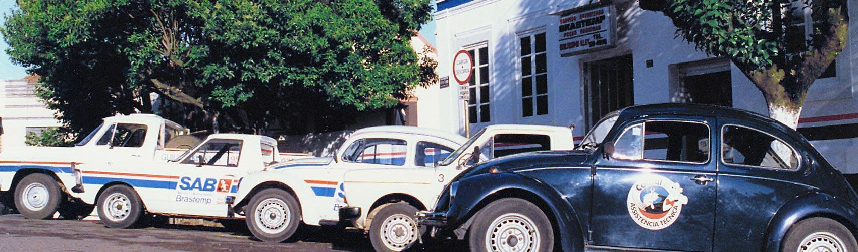 BurgoBrás empresa em 1986